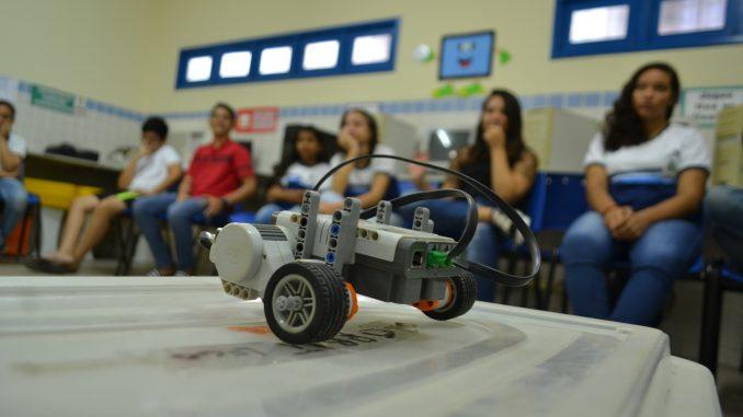 Rede Municipal de Ensino retoma projeto de robótica em Mossoró