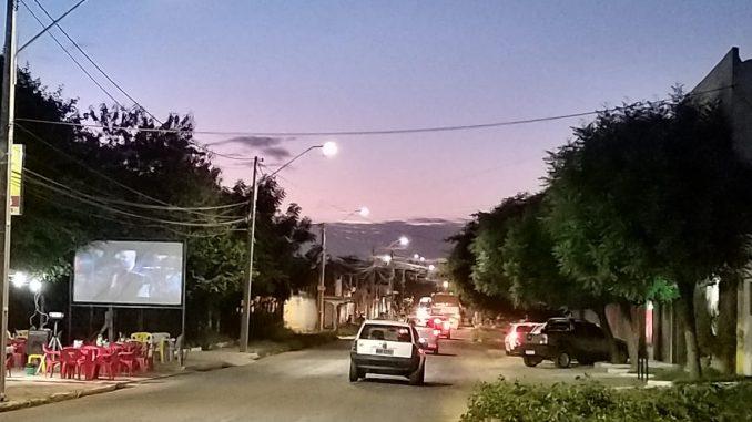 Vias dos bairros Abolição 4 e Aeroporto de Mossoró recebem iluminação em led