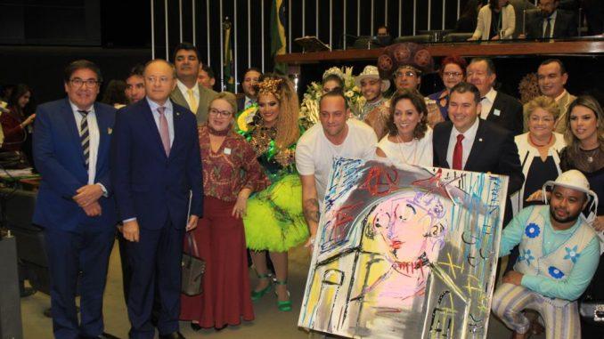 Exaltação à cultura marca sessão solene na Câmara dos Deputados em homenagem ao Mossoró Cidade Junina