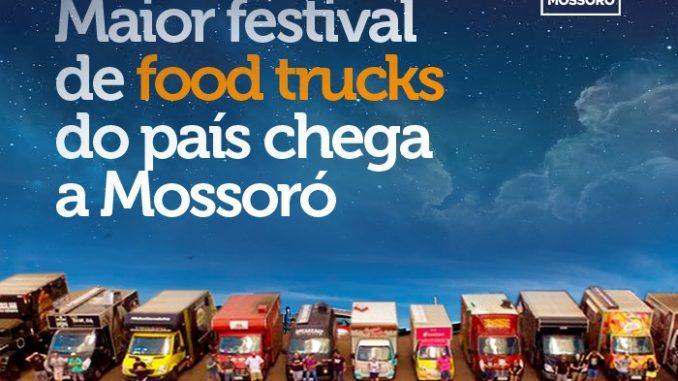 Mossoró recebe neste fim de semana o Festival Food Truck na Estrada