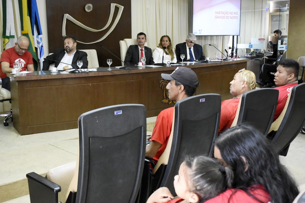 Questão habitacional é tema de audiência pública na Assembleia Legislativa