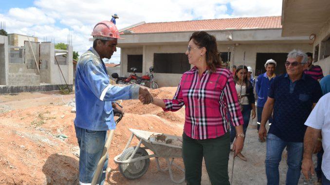 Unidade Proinfância em Mossoró segue com obras em andamento