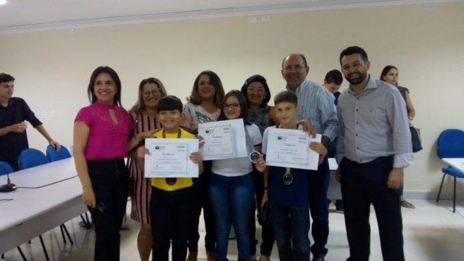 Alunos da Rede Municipal de Mossoró são destaques na I Olimpíada Brasileira de Educação Financeira
