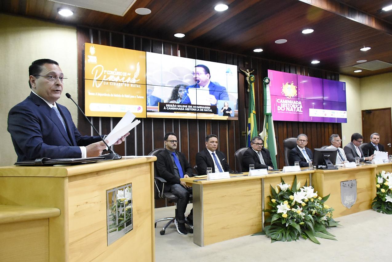 Assembleia Legislativa celebra legado da Caminhada Histórica de Natal