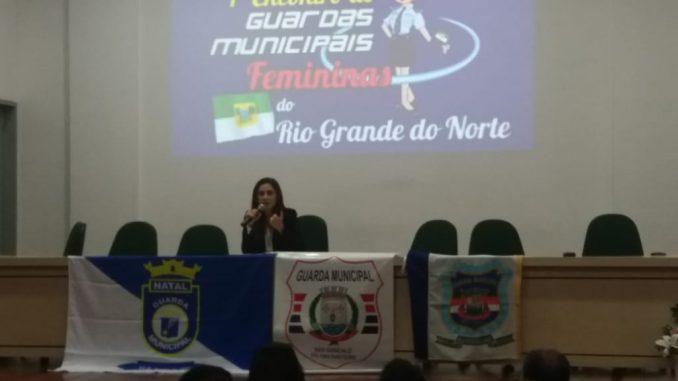 GCM de Mossoró participa do 1º Encontro de Guardas Municipais Femininas do RN