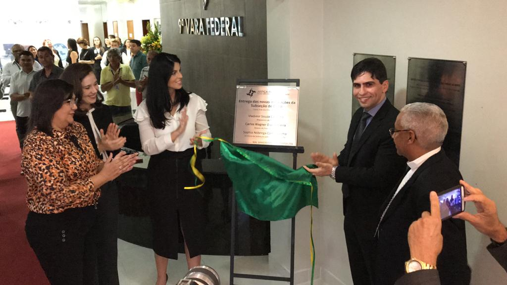 Justiça Federal no RN inaugura novas instalações da Subseção de Caicó