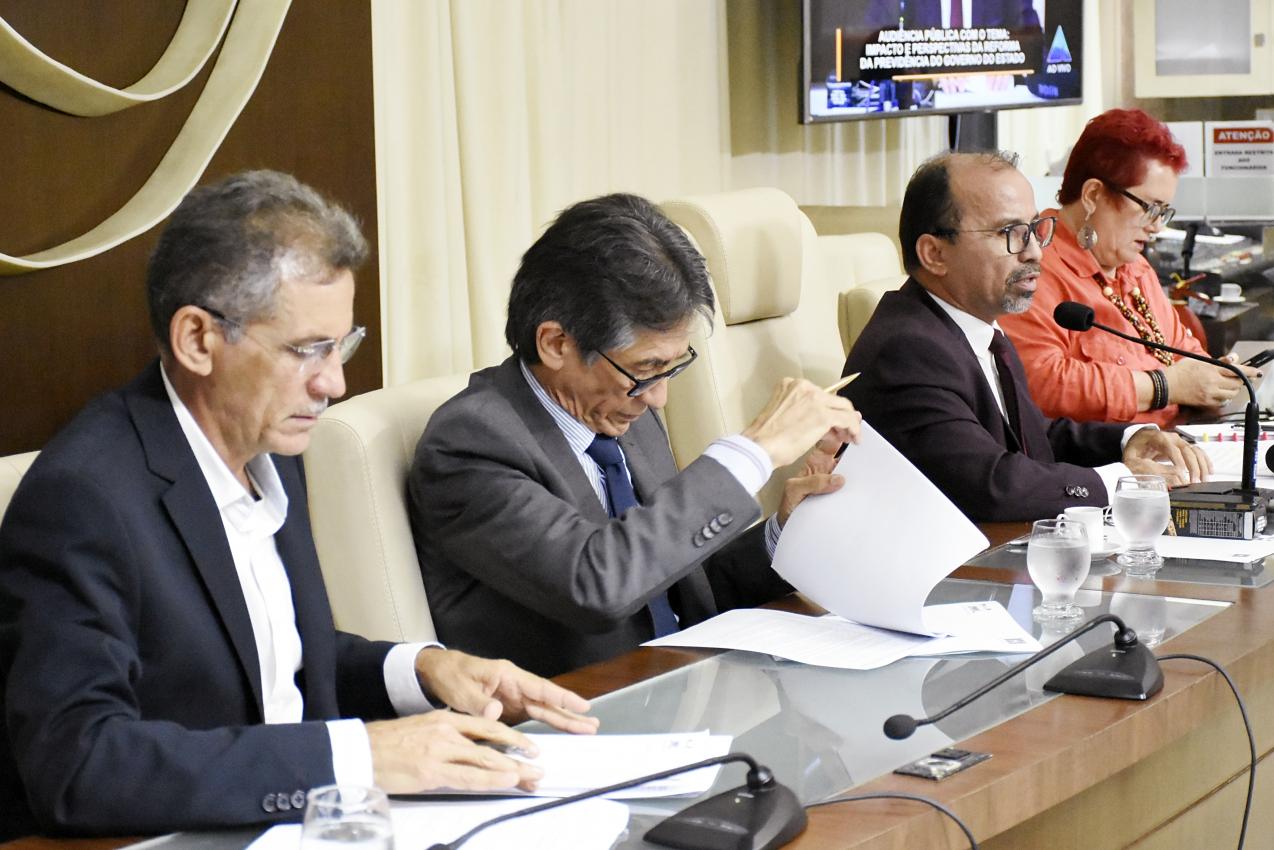 Legislativo discute com servidores PEC da reforma da previdência estadual