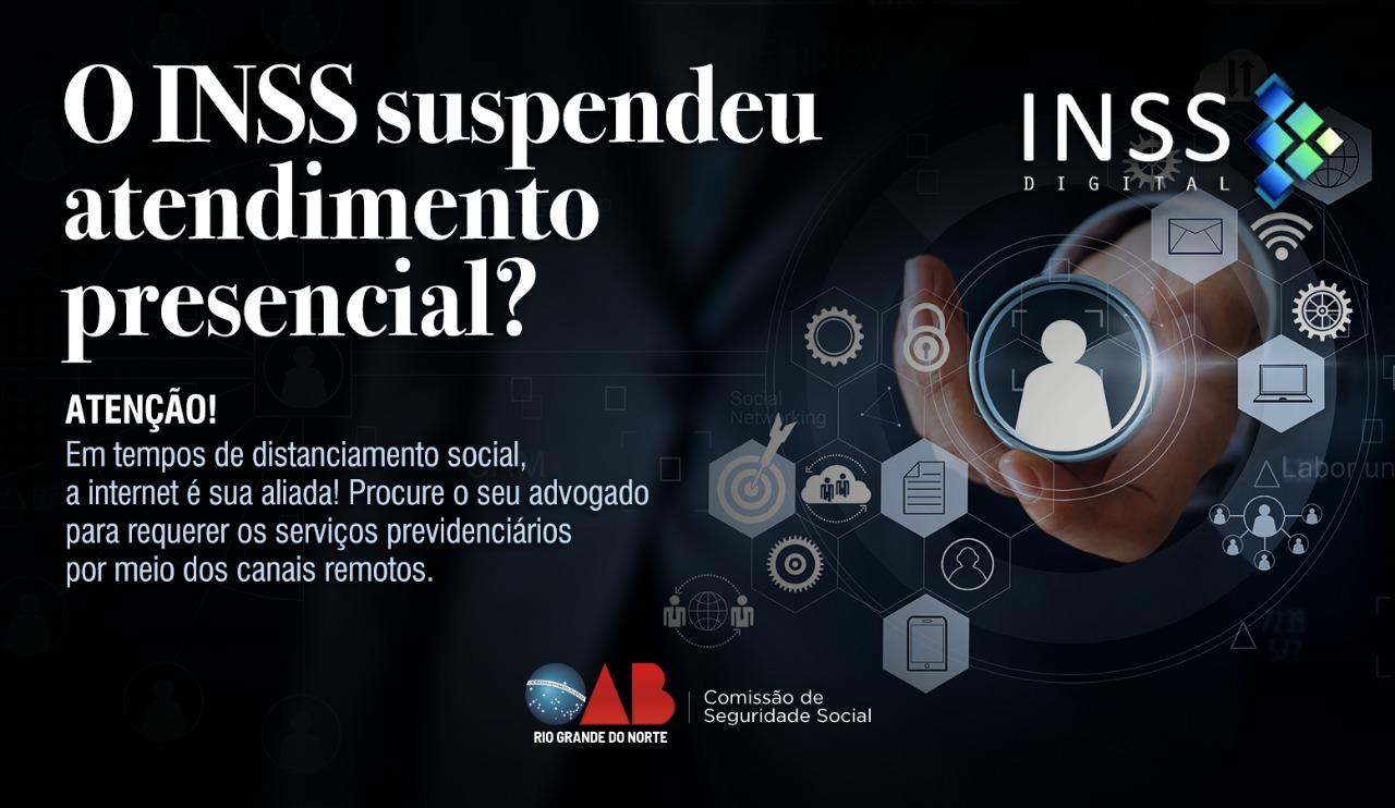 Segurados do INSS podem buscar serviços junto a advocacia potiguar