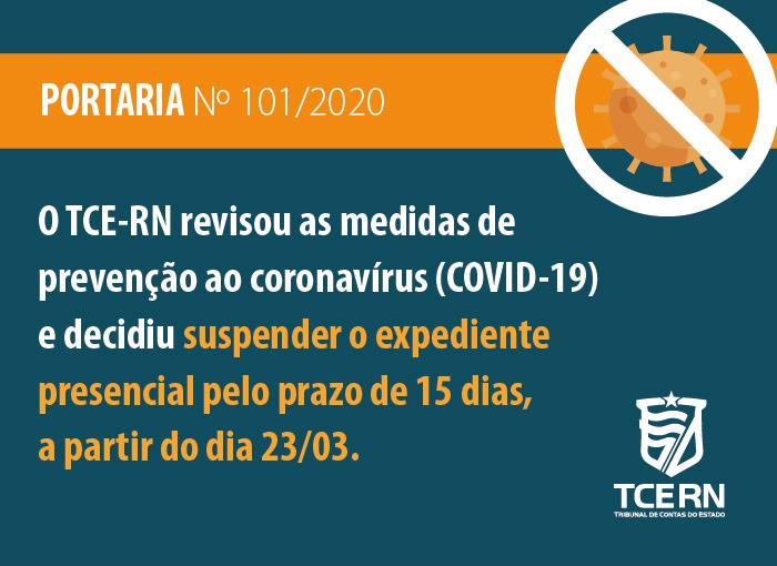 TCE revisa medidas contra coronavírus e decide suspender expediente presencial por 15 dias