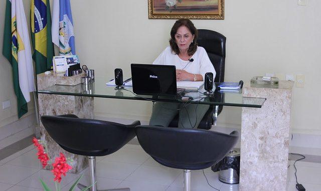 Prefeita de Mossoró relata em videoconferência ao MP medidas de enfrentamento à Covid-19