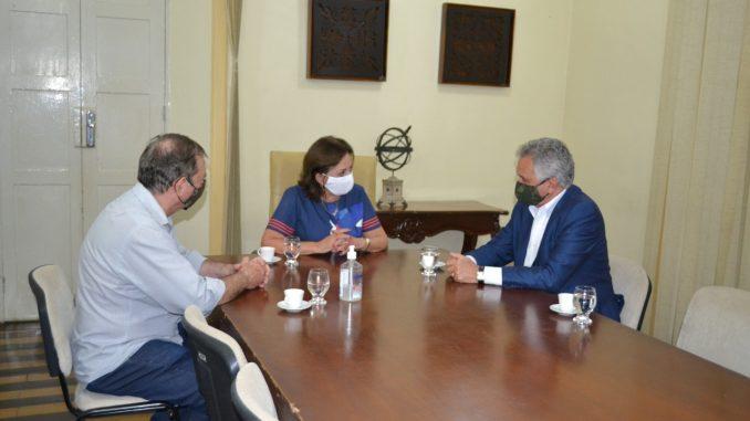 Prefeita de Mossoro recebe visita de deputado federal Eliéser Girão